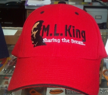 ML King Red Baseball Cap
