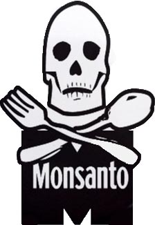 Monsanto Death Reaper Organic Cotton No GMO Shirt