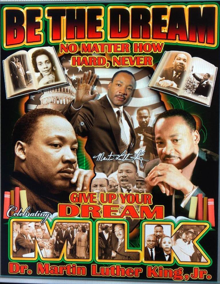New For Mlk Day 2018 Martin Luther King Be The Dream T Shirt Two