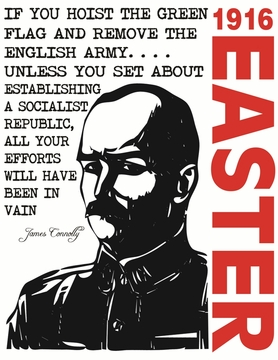 James Connolly 1916 Easter Rising T-Shirt