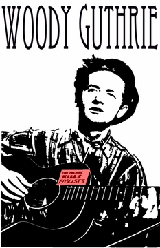 New! Woody Guthrie T-Shirt