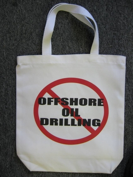 No Offshore Oil Drilling Tote