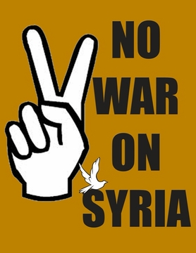 No War With Syria T-Shirt