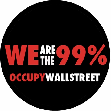 Occupy Wallstreet Button
