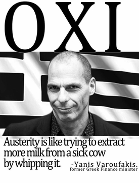 OXI: Greece Says No To Austerity T-Shirt