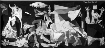 "Pablo Picasso ""Guernica"" Spanish Civil War Poster"