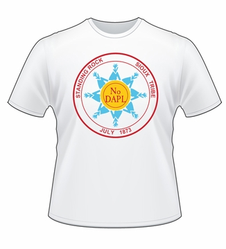 Standing Rock Sioux Tribe No DAPL T-shirt!