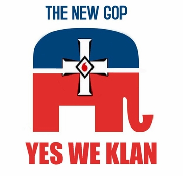 The New GOP: Yes We Klan T-Shirt