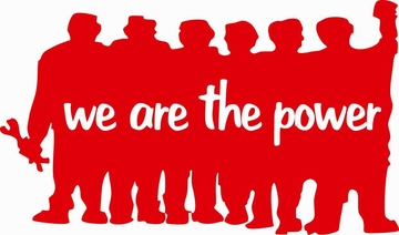 We Are the Power - Paris May 68 Street Poster Graphic W/ English Translation T-Shirt