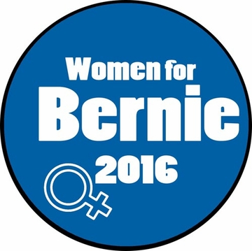 Women for Bernie Button