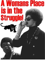 Womens Black Power Shirts