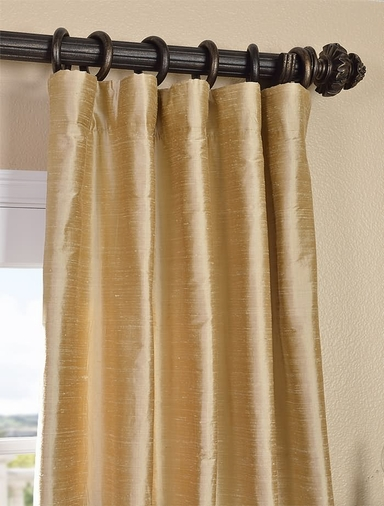 Buy biscotti textured dupioni silk curtains and drapes for Silk curtains texture