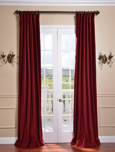 huge selection of velvet curtains on half price drapes