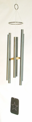 "1"" Large Aluminum Wind Chime  (#91023)"