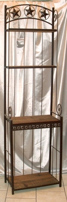 "Bakers Rack 24 ""w/Pine Shelves  (#53004)"