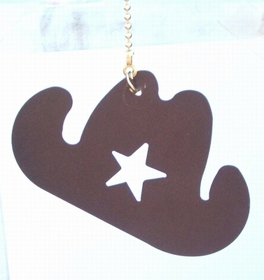 Cowboy Hat Ceiling Fan Pull (#93039)
