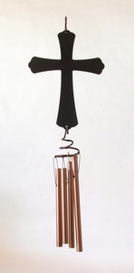 Cross Stamped Windchime Graphite (#51128)