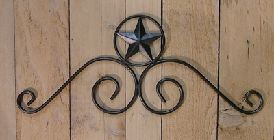 Doortopper w/Star  (#50300)
