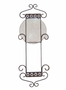 Double Plate Rack w/Star Band 390 (#50164)