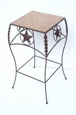 Fancy Star Table w/Tile (#50743)