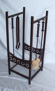 Fireplace Tool_Log Rack Combo (#51099)