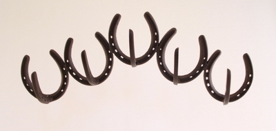 Horseshoe Coat Rack  (#50602)