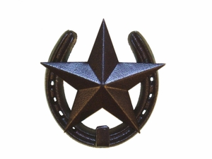 Horseshoe w/Star & Hook  (#50202)