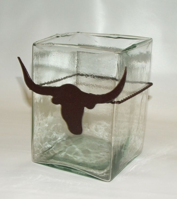 Longhorn Square Glass (#51567)