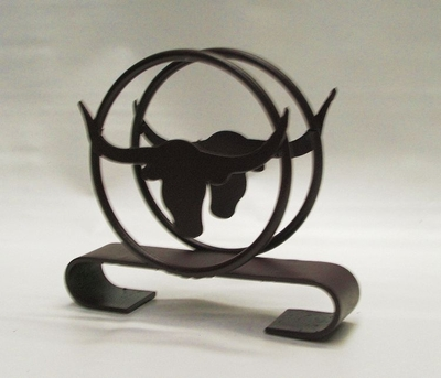 Napkin Holder w/Longhorn (#50396)