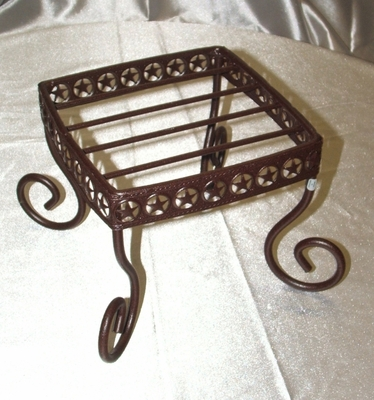 Plant Stand Lg Short Square (#51158)