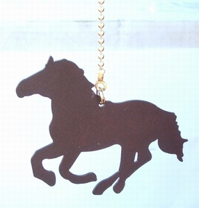 Running Horse Ceiling Fan Pull (#93037)
