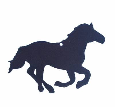 Running Horse Ornament (#93023)