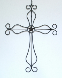 Rustic Cross w/3 Inch Star (#50761)