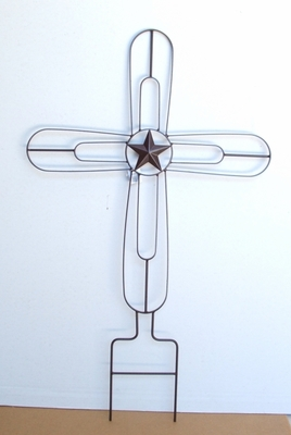 Small Trellis Cross(#00972)