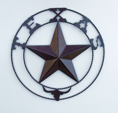 Star 12 in Twist Wire & Longhorn (#50763)