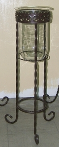 Star Band Floor Stand 36 w/Glass (#50859)