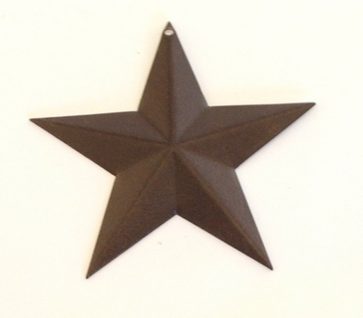 Star Christmas Ornament - Rustic  (#50527)
