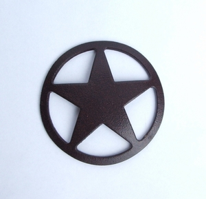 Star Concho Magnet  (#50609)
