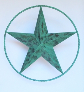 Star w/Wire 24 Inch Green  (#53020)