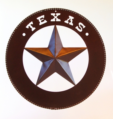 Texas Star w/Wide Ring 18 Inch  (#52590)