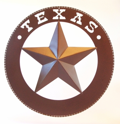 Texas Star w/Wide Ring 24 Inch  (#52500)