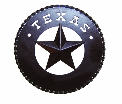 Texas Star w/Wide Ring 9 Inch  (#52602)