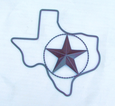 Texas w 12 in Star (# 51512)
