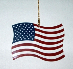 US Flag Ceiling Fan Pull (#93064)
