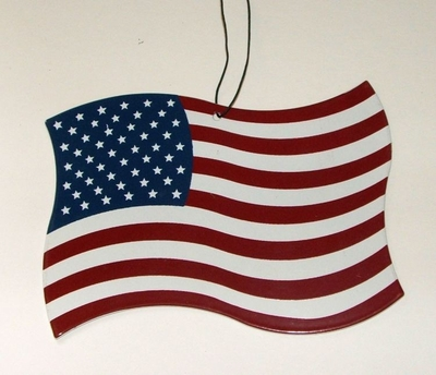 US Flag Ornament (#93061)