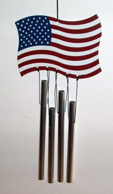 US Flag Windchime (#93062)