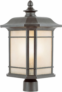 "16"" Outdoor Post Light By Trans Globe - 5824"