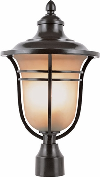 "19.25"" Outdoor Post Lantern By Trans Globe - Bronze 5705ROB"