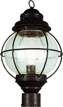 "19"" Outdoor Post Lighting Fixture By Trans Globe - Nautical 69905"