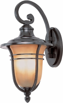 """21.5"""" Outdoor Wall Sconce By Trans Globe - Bronze 5702ROB"""